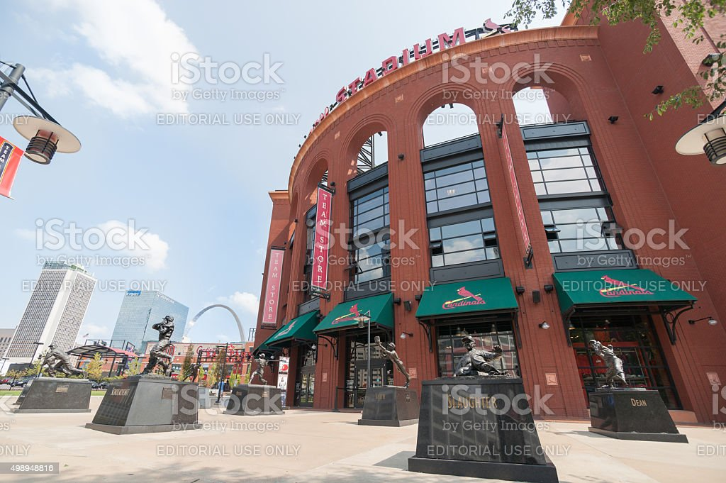 St Louis, architecture, Ballpark Village Missouri,USA. stock photo