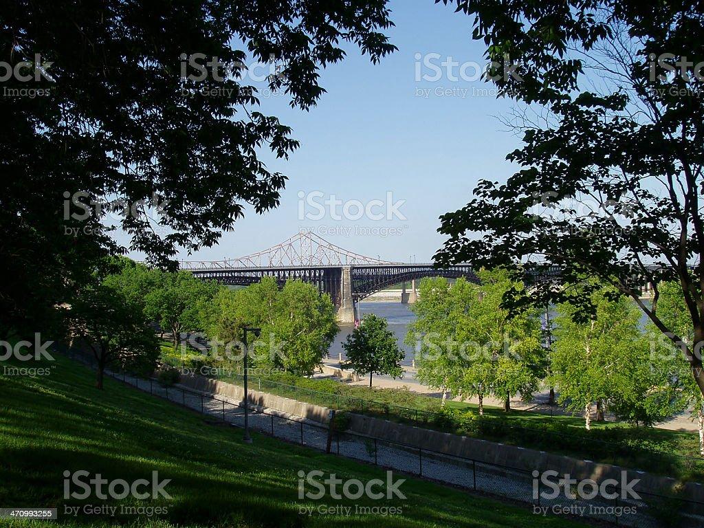 St. Louis - Bridge royalty-free stock photo