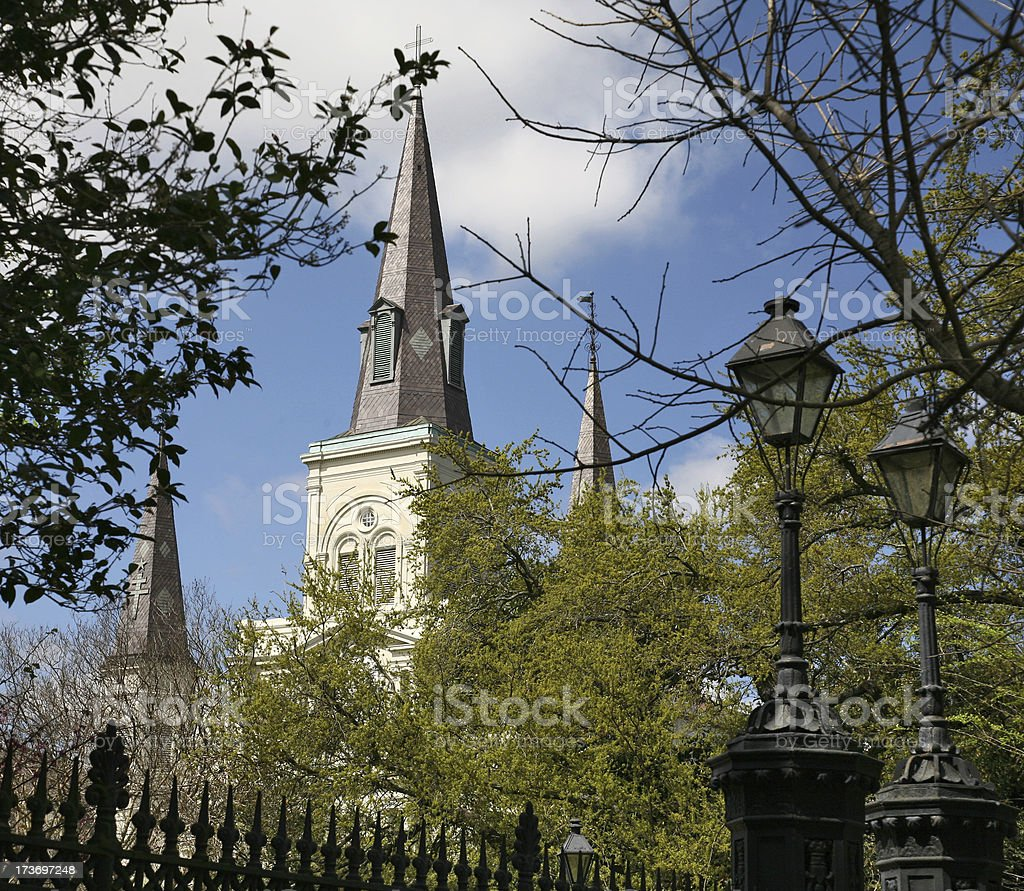 St. Louis Cathedral 2 stock photo