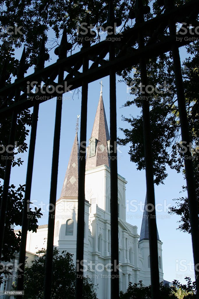 St. Louis Cathedral royalty-free stock photo