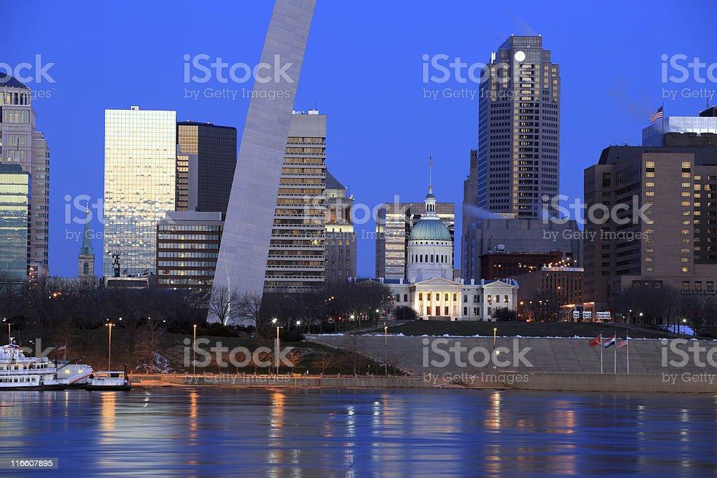 St. Louis, MO royalty-free stock photo