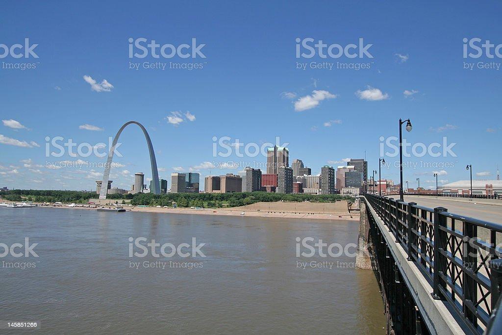 St Louis royalty-free stock photo