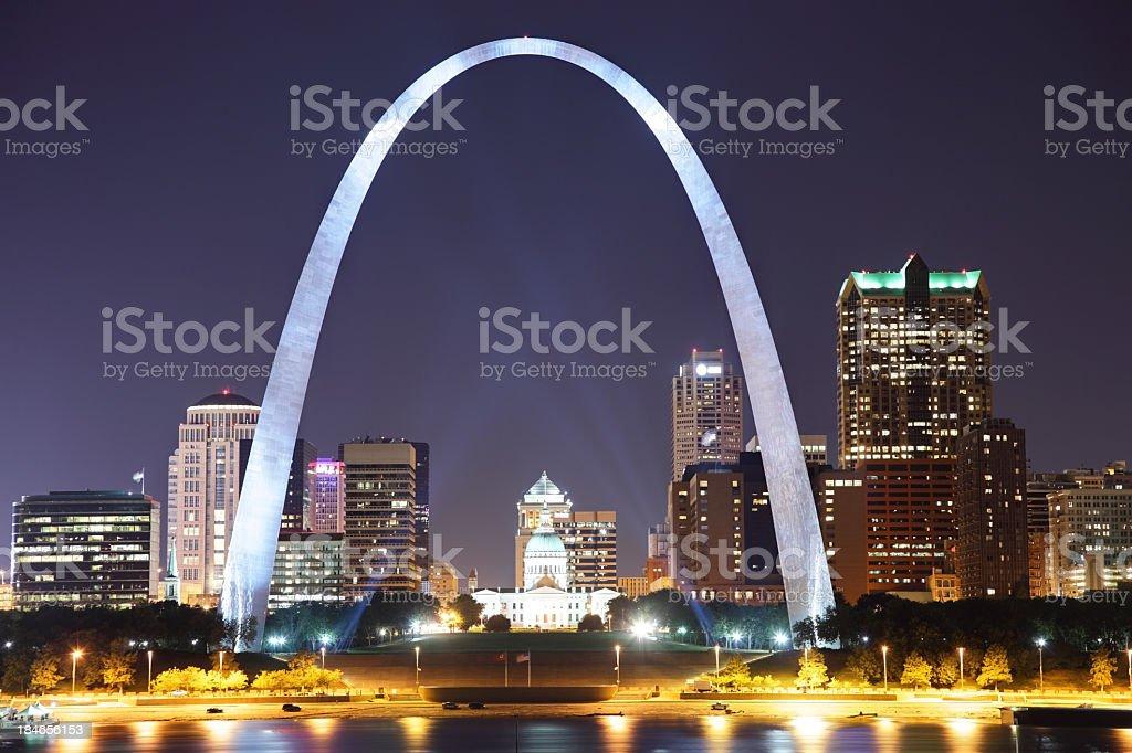 St Louis stock photo