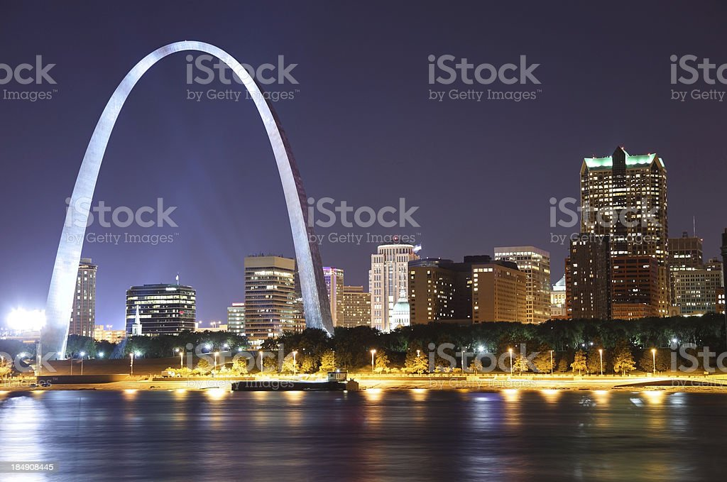 St Louis stock photo