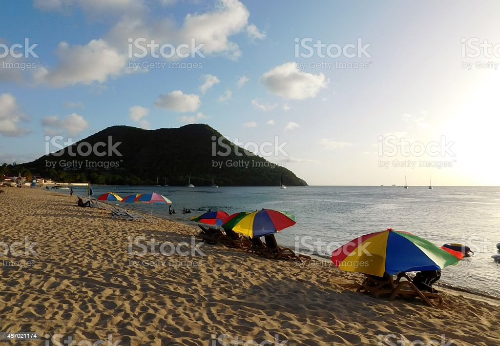 St. Lucia stock photo