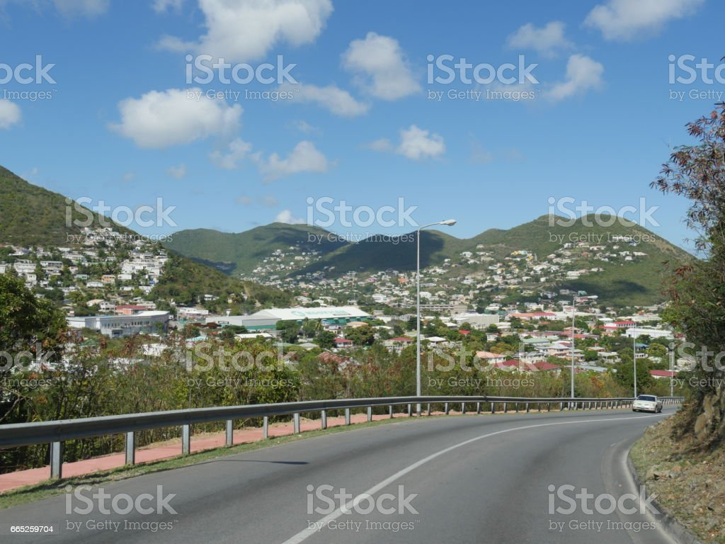 St. Maarten, Caribbean Islands stock photo