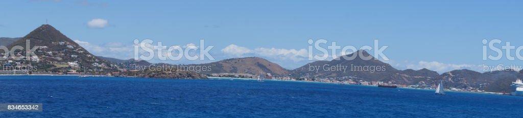 St. Maarten niederländische Antillen stock photo