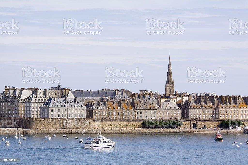 St Malo Brittany stock photo