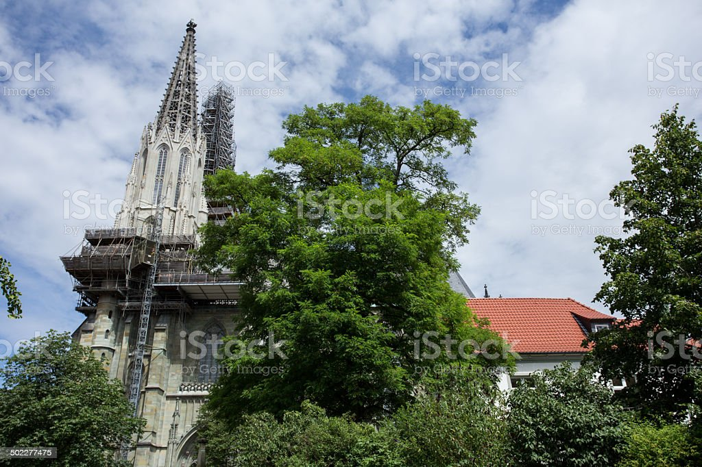st maria zur hoehe church in soest germany royalty-free stock photo