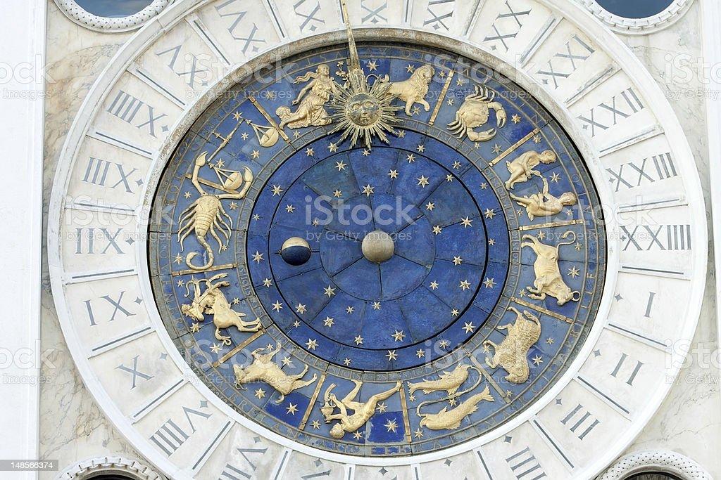 St Marks Astronomische Uhr Lizenzfreies stock-foto