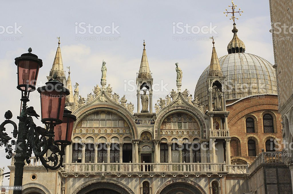 Basilica di San Marco royalty-free stock photo