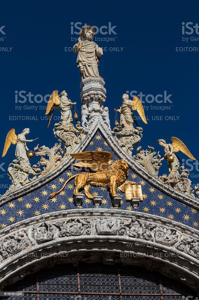 St Mark's Basilica - Venice - Italy stock photo