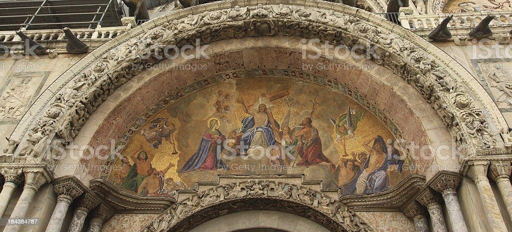 St. Mark's Basilica, Venice royalty-free stock photo