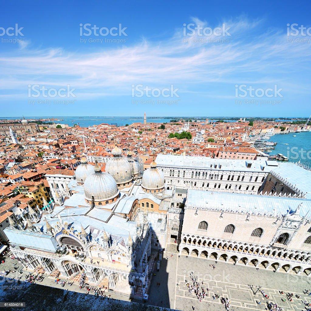St. Mark's Basilica, Venice stock photo