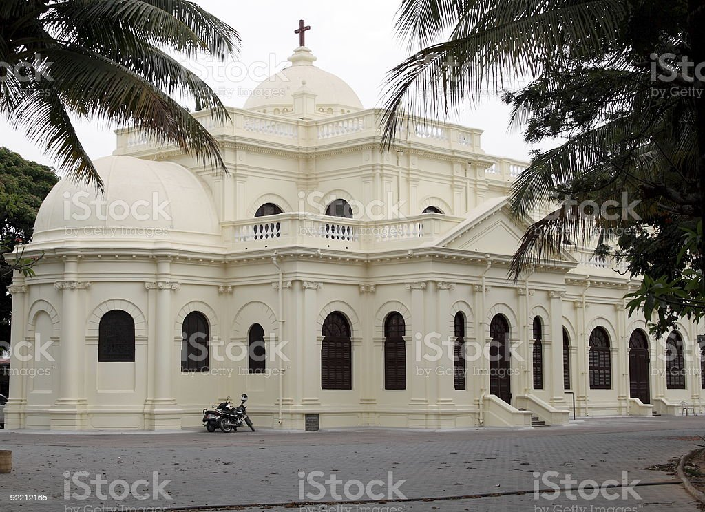 St Mark's Cathedral in Bangalore, India royalty-free stock photo