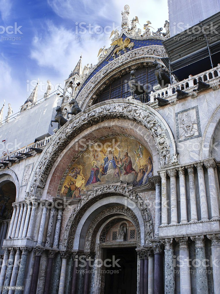 St. Mark's Cathedral, Venice, Italy royalty-free stock photo