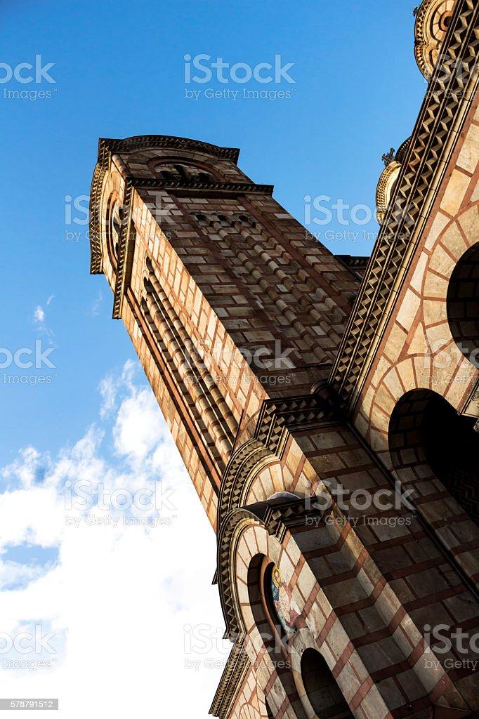 St. Mark's Church stock photo
