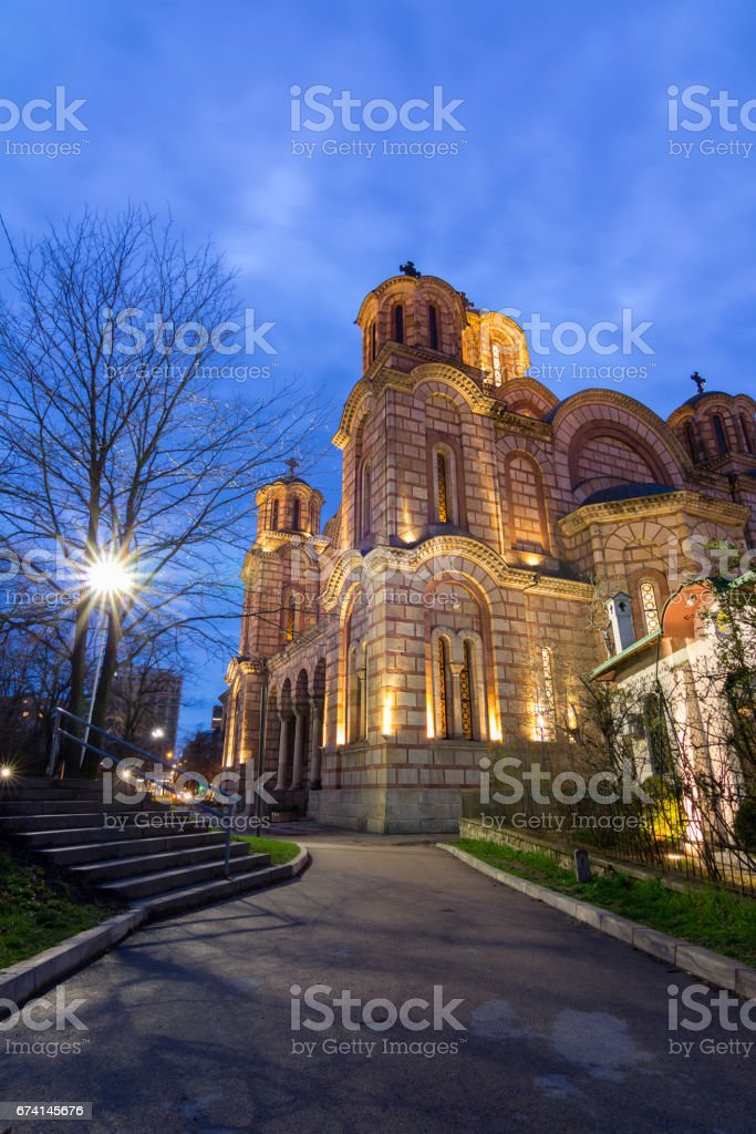 St Marks Church stock photo