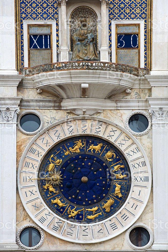 St Mark's Clock royalty-free stock photo