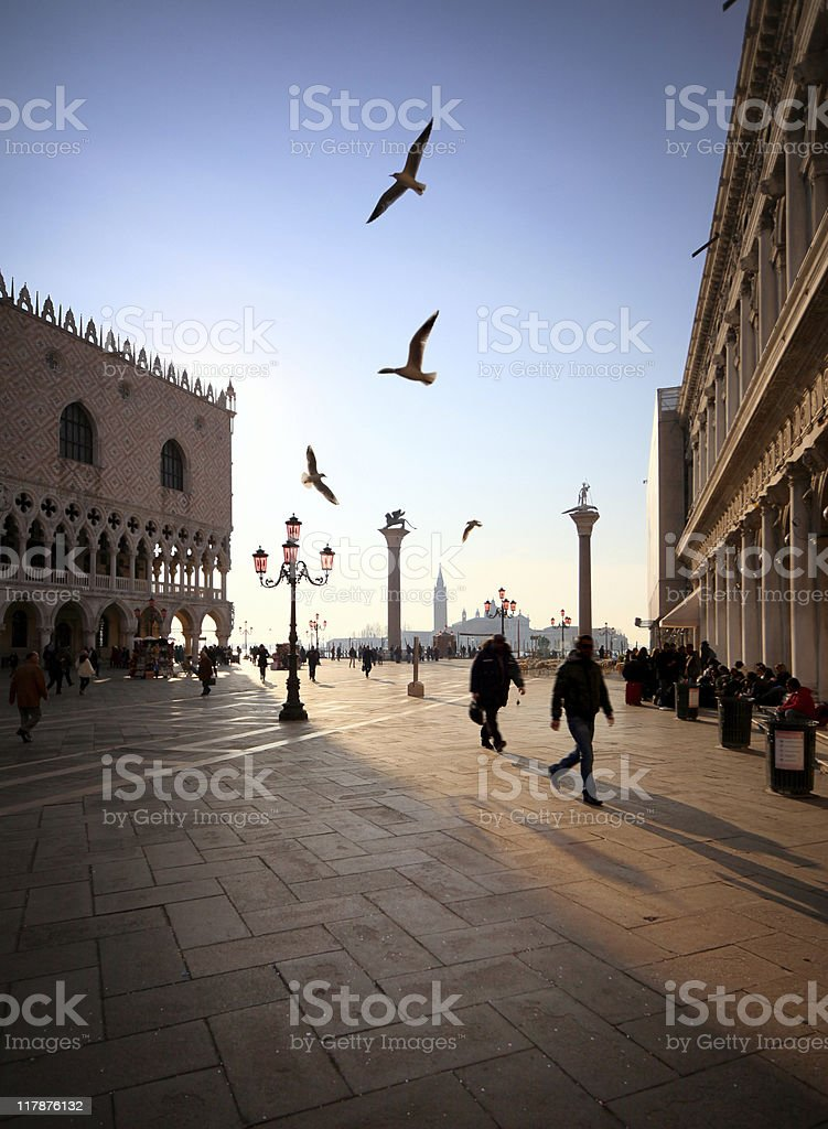 St. Mark?s square royalty-free stock photo