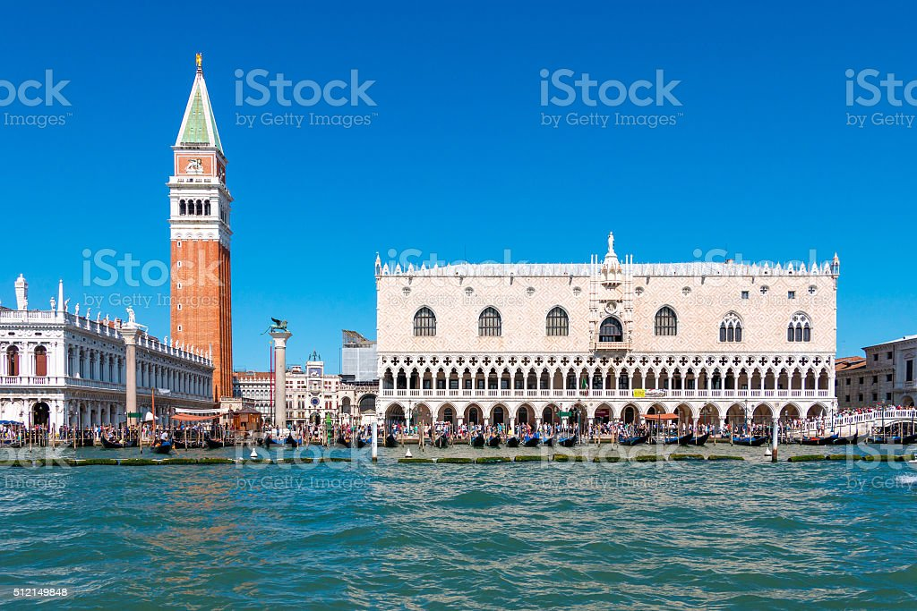 St. Mark's Square stock photo