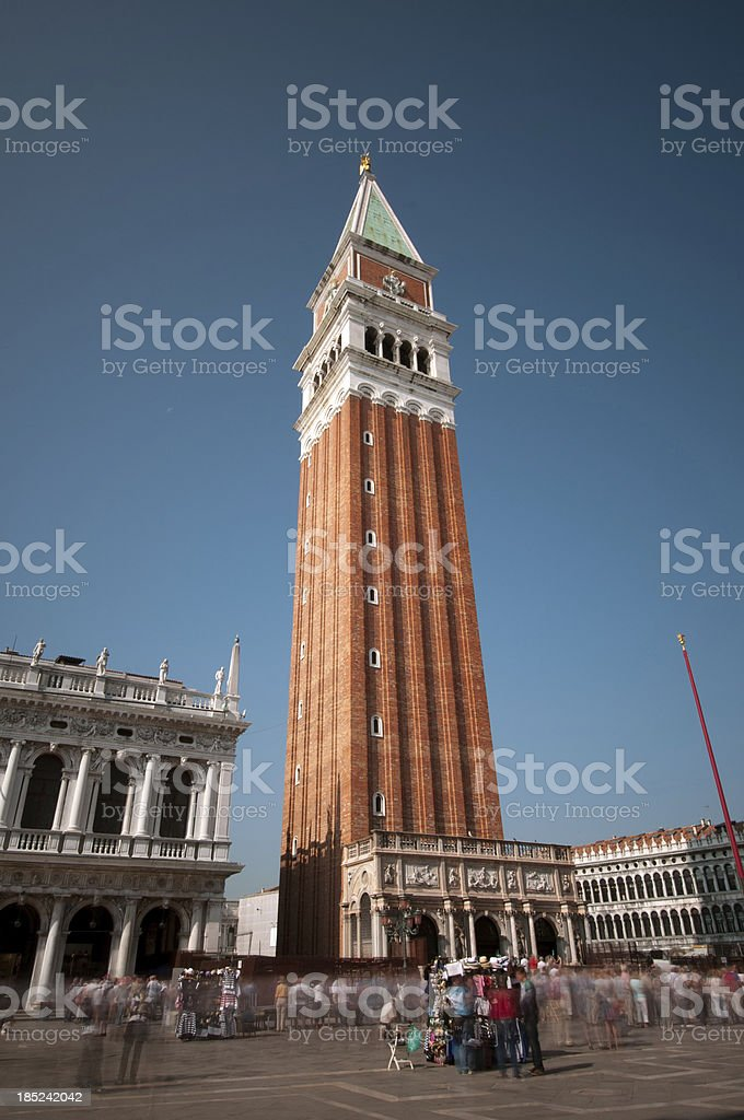 St Mark's Square, Venice royalty-free stock photo