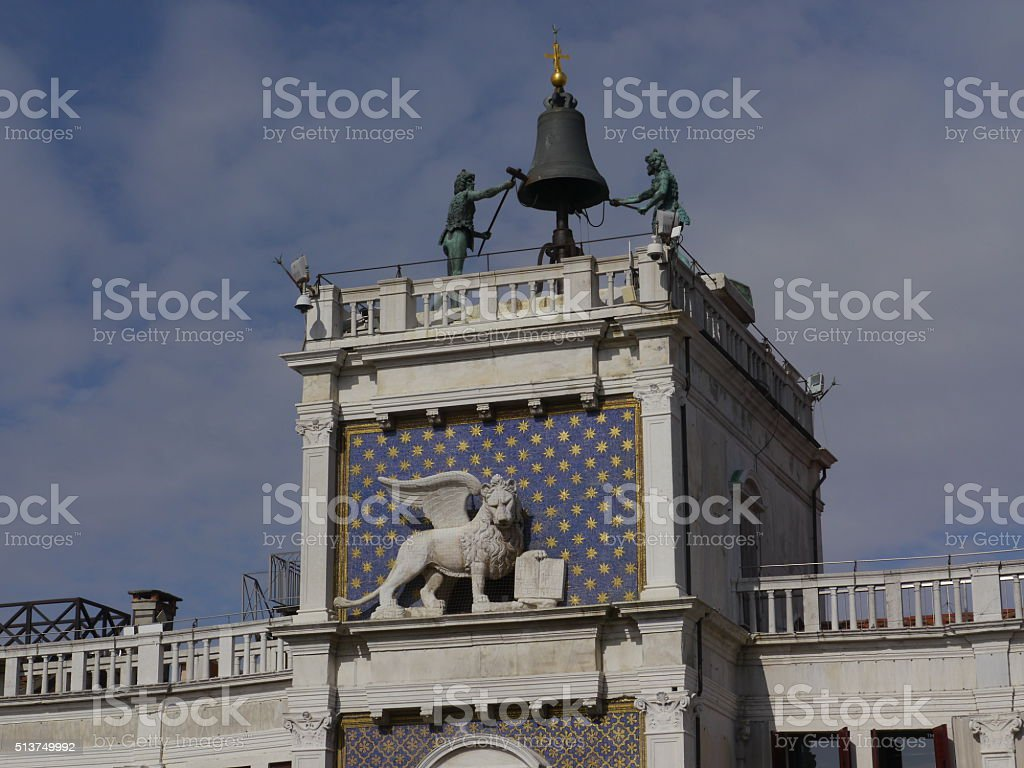 St. Mark's square, Venice stock photo