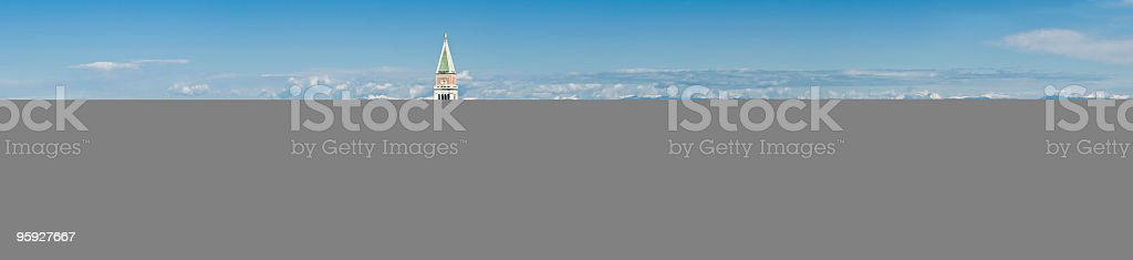 St Marks Venice cityscape large royalty-free stock photo