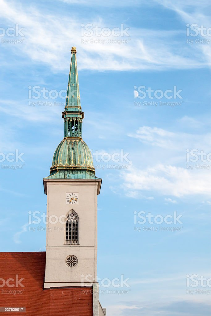 St. Martin Cathedral stock photo