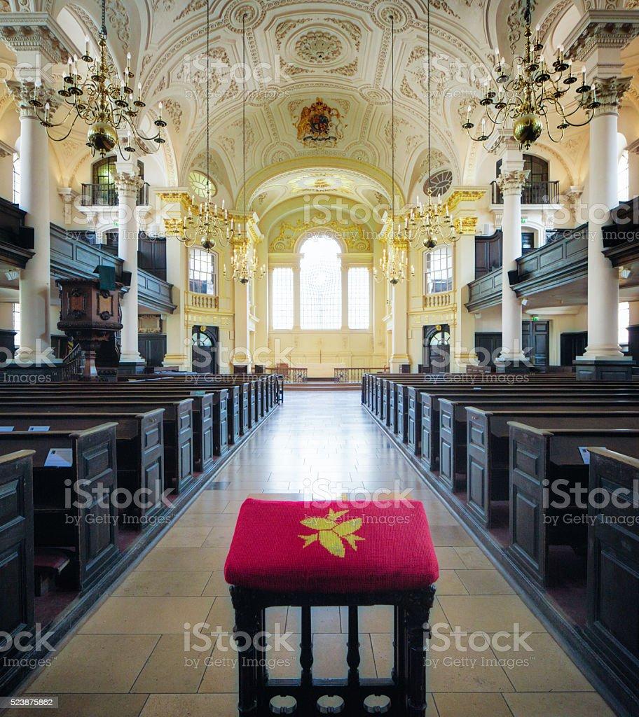 St Martin in the Fields  Interior London UK stock photo