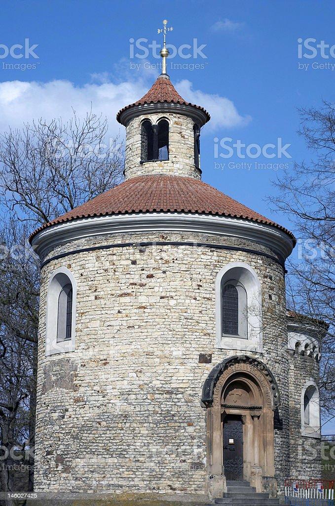 St Martin Rotunda royalty-free stock photo