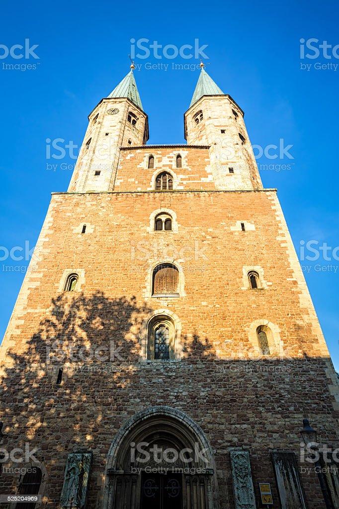 St. Martini Church in Braunschweig stock photo