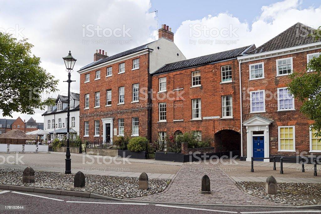 St Martin's at Palace Plain, Norwich royalty-free stock photo