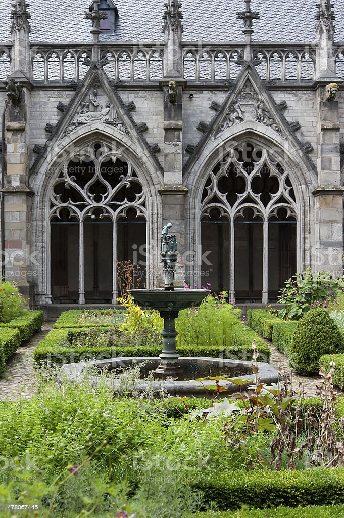 st martins cathedral, utrecht stock photo