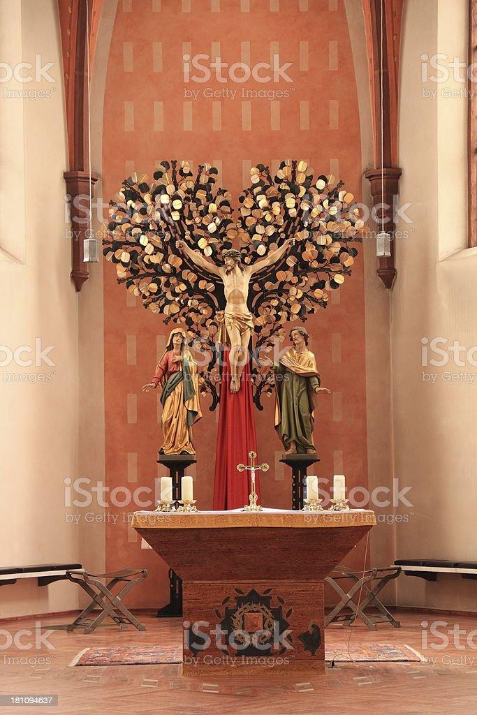 St. Martinskirche Bad Bergzabern royalty-free stock photo