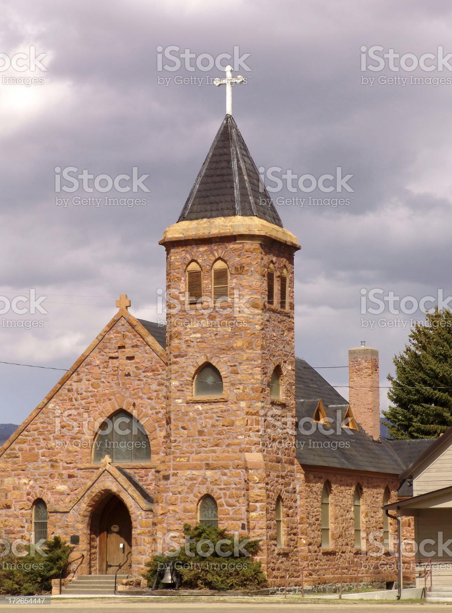 St. Mary Assumption Church royalty-free stock photo