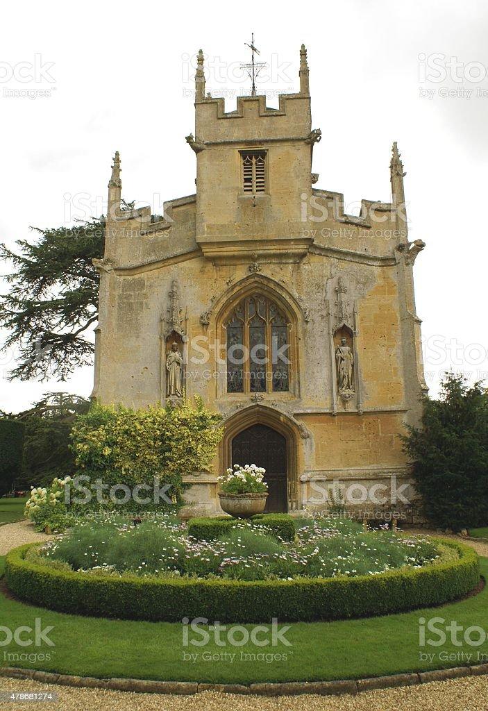 St Mary Church in Winchcombe England stock photo