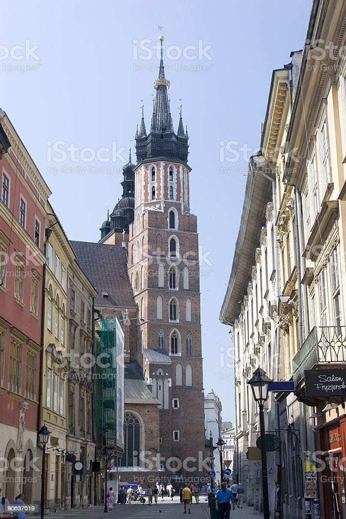 St. Mary Church royalty-free stock photo