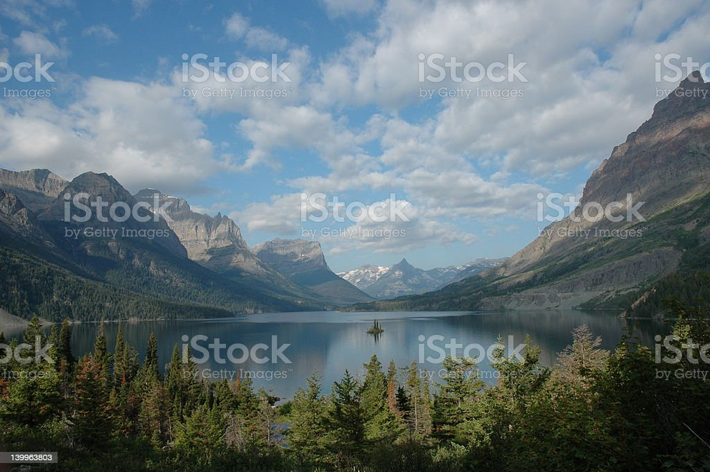 St. Mary Lake 1 royalty-free stock photo
