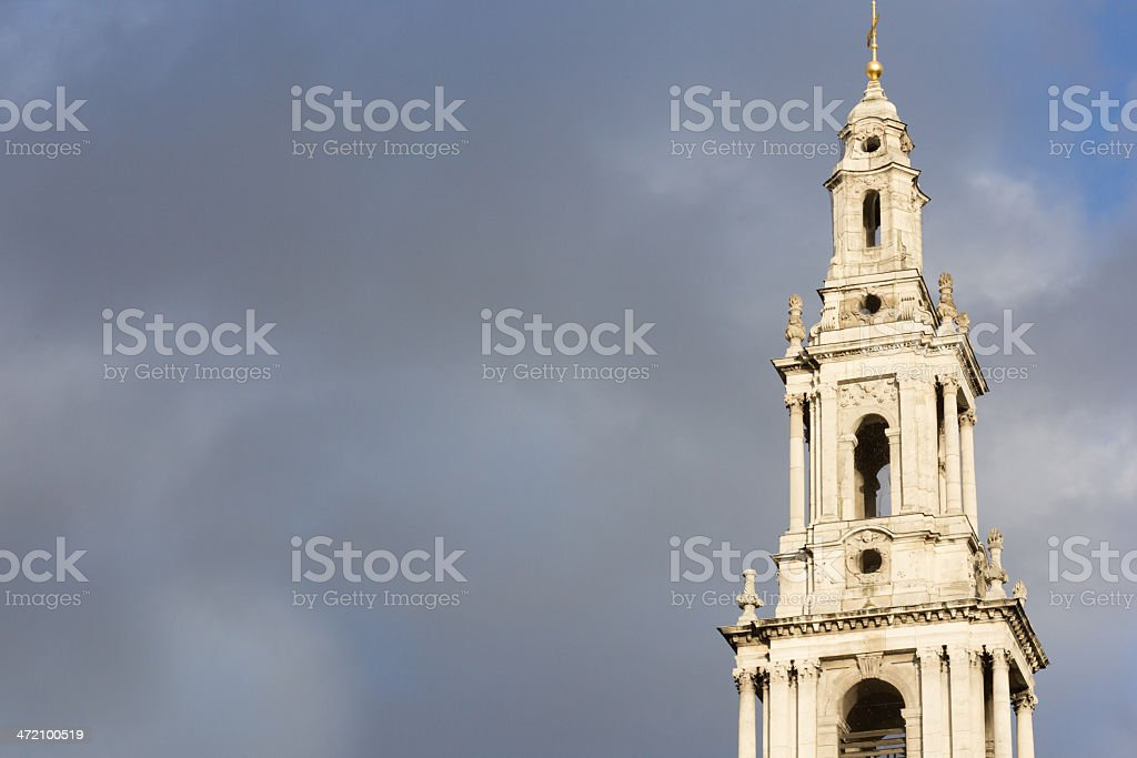 St Mary le Strand in London, England royalty-free stock photo