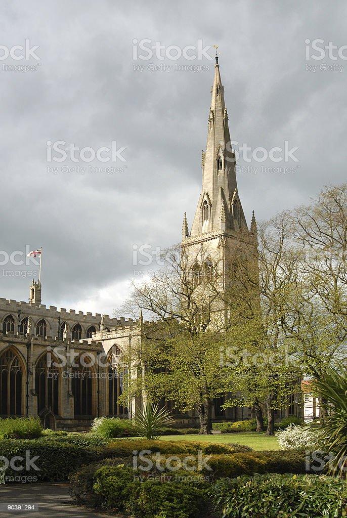 St Mary Magdalene Church stock photo
