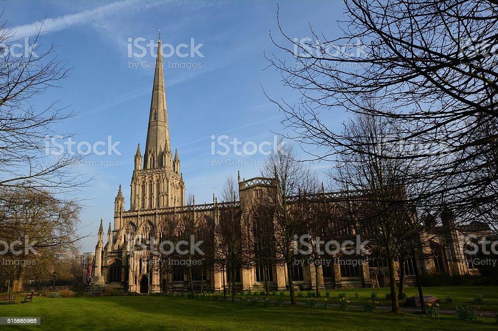 St Mary Redcliffe Church, Bristol stock photo