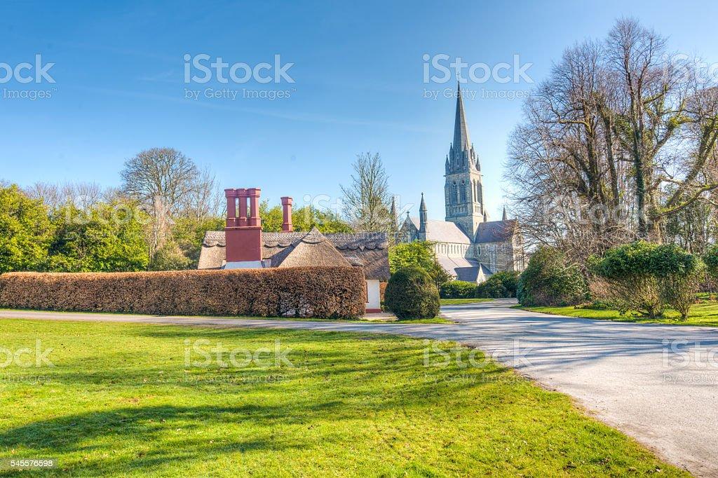 St Mary's Cathedral, Killarney, Ireland stock photo