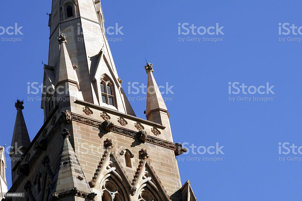 St. Mary's Cathedral, Sydney royalty-free stock photo
