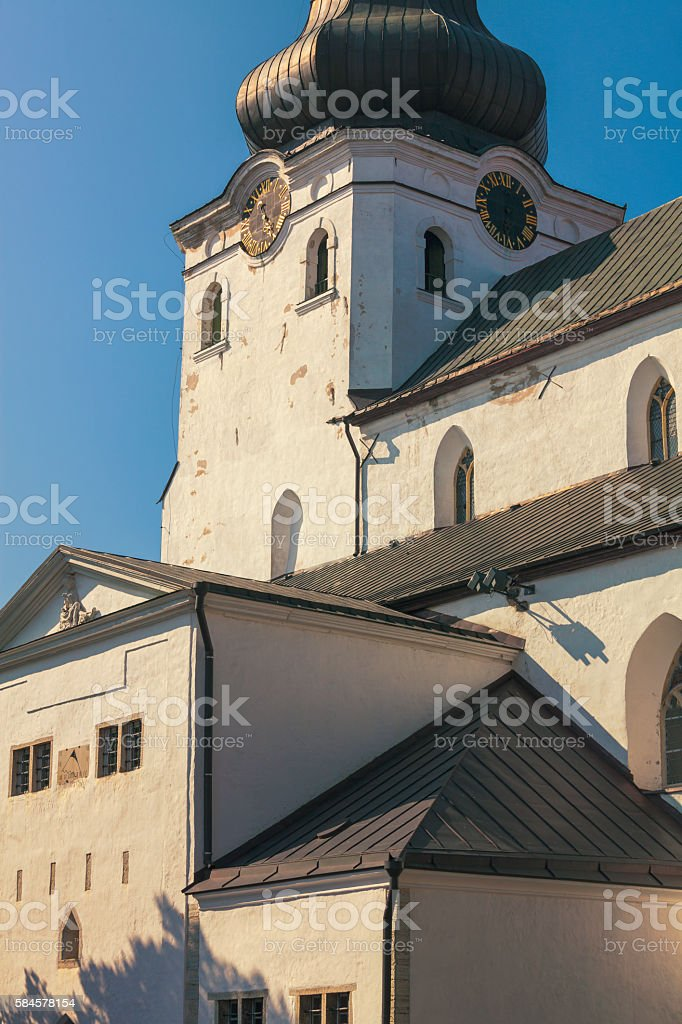 St Mary's Cathedral, Tallinn stock photo