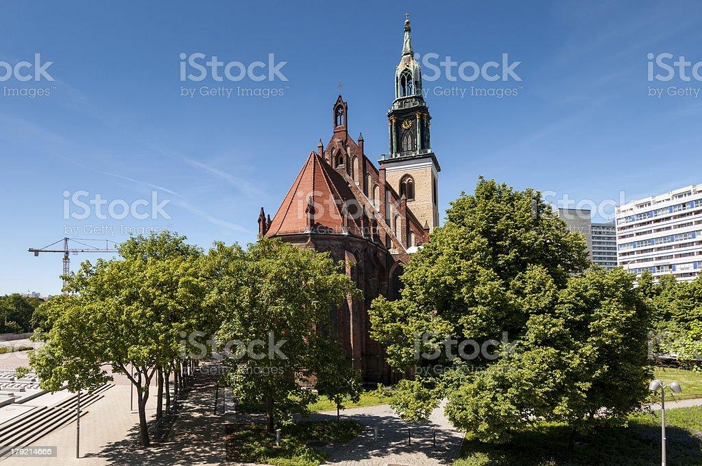 St. Mary's Church, Berlin royalty-free stock photo