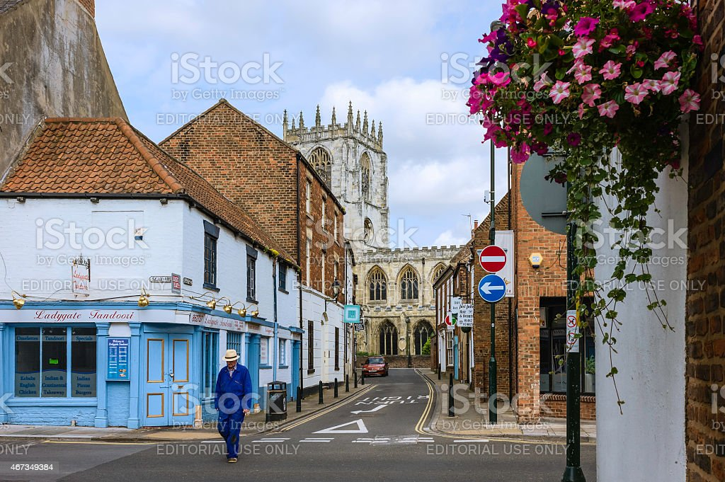 St Mary's Church in Beverley, Yorkshire, UK. stock photo