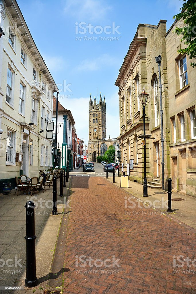 St Mary's Church in Warwick, England, UK stock photo