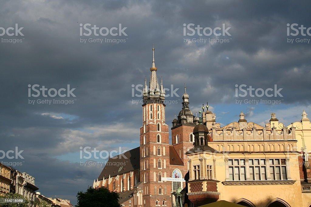 St. Mary's Church stock photo