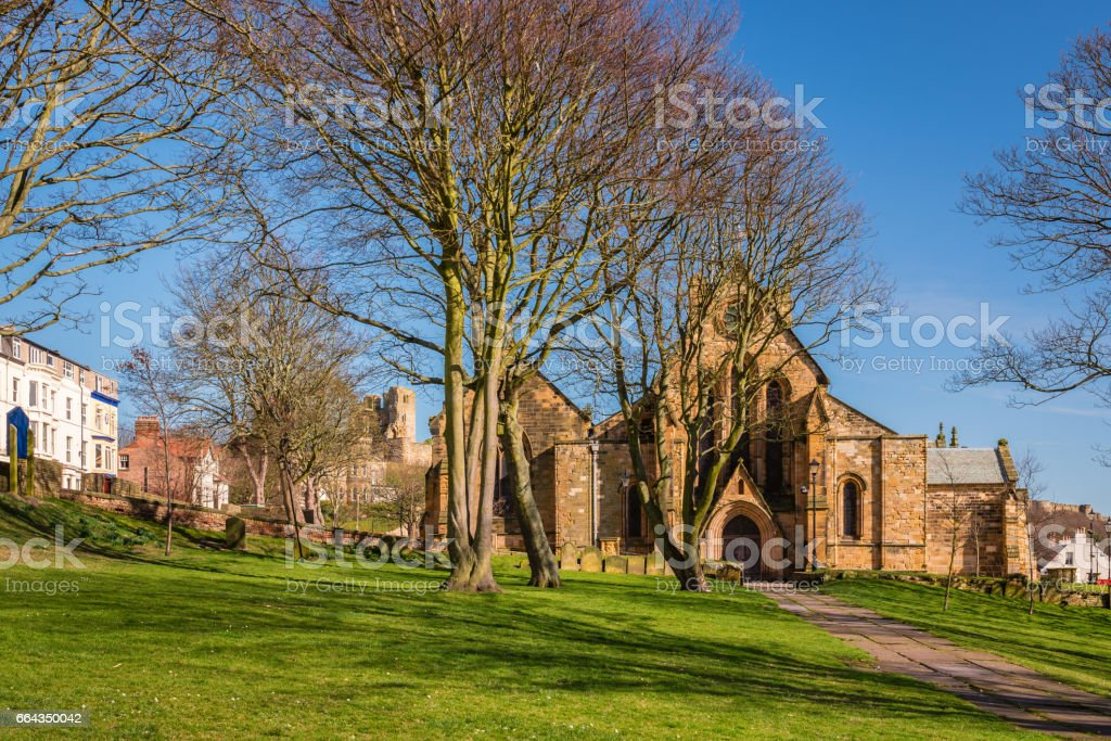 St Mary's Church Scarborough stock photo